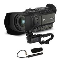GY-HM170 4KCAM Compact Professional Camcorder with Integr...