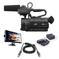 JVC GY-LS300 4KCAM Handheld S35mm Camcorder (Body Only) -...