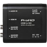 JVC PROHD-4601 HDMI to SDI Converter, 2x 3G/HD/SD-SDI Out...