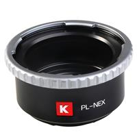 PL Lens to Sony E-Mount Camera Lens Adapter