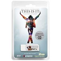 Kingston Technology DataTraveler, 2 GB Flash Drive with Preloaded Michael Jackson THIS IS IT Movie