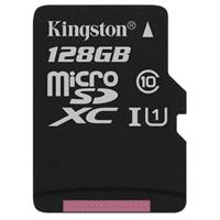 Kingston 128GB Class 10 UHS-I microSDXC Memory Card witho...