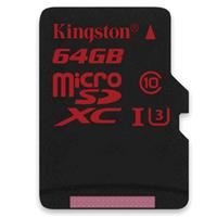 Kingston 64GB microSDXC UHS-I U3 Flash Card, 90MB/s Read ...