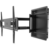 Kanto R500 Recessed Articulating In-Wall Full Motion TV M...