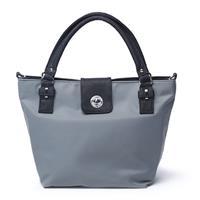 Saratoga Bag with Removable Basket, Gray