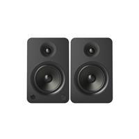 Kanto YU6 200W 2-Way Powered Bookshelf Speaker, Pair, Mat...