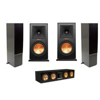 2x RF-7 II Floorstanding Speaker, Black - Bundle With Kli...