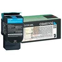 Lexmark C544X1CG Extra High Yield Cyan Laser Return Progr...