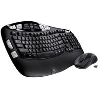 Logitech MK550 Wireless Wave Ergonomic Keyboard and Mouse