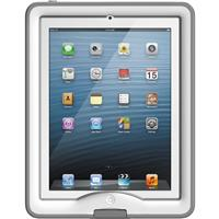 nuud Case for iPad Air, White/Gray