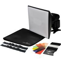 Lumiquest Strobist Kit with Promax Softbox III, FXtra Com...