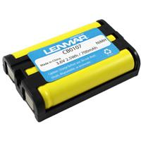 Lenmar No-Memory Nickel-Metal Hydride, 3.6v, 650mAh Recha...