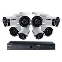 LNK72163T 16-Channel 4K NVR with 3TB HDD and 8x LKB343B 2...