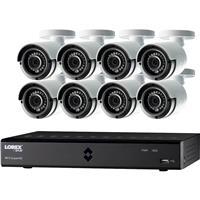 LHA2000 16-Channel HD MPX DVR with 8x LAB223B 1080p Weath...