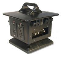 Lexmark 100 Amp Rubber Lunchbox, Feed Thru - Power Distri...