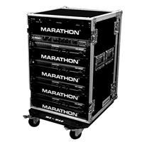 "Marathon 21"" Flight Road Deluxe Case with Wheels for 16U ..."