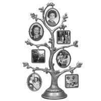 MALDEN Family Tree, Fashion Pewter Metal Tree, 2-Sided wi...
