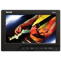 """Marshall 7"""" Portable Camera-Top LCD Field Monitor with Ca..."""