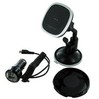 Car Charger and Stand with 1 Amp USB Port