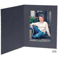 Contemporary Black Portrait Folder Frame, for a Vertical ...