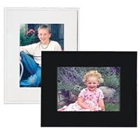 COLLECTOR'S Gallery Sturdy Easel Cardboard Frame For A Polaroid 600 Photograph, White (6 Pack)