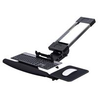 MI-7134 Fully Adjustable Under Desk Keyboard Tray with Sp...