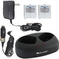 Midland AVP-6 Desktop Charger, Batteries, AC and DC Adapt...
