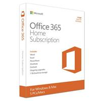 Microsoft Office 365 Home, 1 Year Subscription, 5 PC or M...