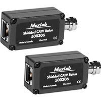 MuxLab Shielded CATV Balun, 2 Pack