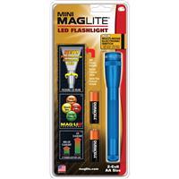 Mag-Lite SP2211H Mini LED Flashlight with Holster, Blue