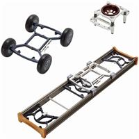 MYT Works 3-in-1 Large Camera Rover Dolly System, Include...
