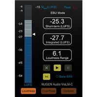 VisLM-C2 ITU/ATSC/EBU Standard Compliant Loudness Measure...