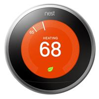 Learning Thermostat 3rd Generation, Stainless Steel