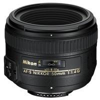 50MM F/1.4G AF-S Nikkor Lens -  By Nikon U.S.A.