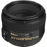 Nikon AF-S Nikkor 50mm f/1.4G Standard Lens