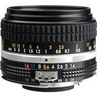 Nikon 50mm f/1.4 NIKKOR Ai-S Manual Focus Lens - U.S.A. W...
