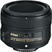Nikon 50mm f/1.8G AF-S NIKKOR Lens - U.S.A. Warranty