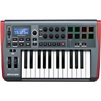 NOVATION Impulse 25 USB MIDI Controller Keyboard with Aut...
