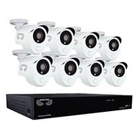 Night Owl Optics 8 Channel 1080p HD DVR Security System w...