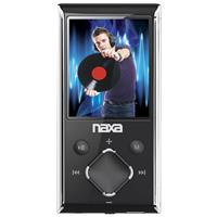 "Naxa NMV-173N Portable Media Player With 1.8"" LCD Screen, BUILT-IN 4GB Flash Memory, PLL Digital FM Radio & Microsd Card Slot, Silver"