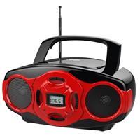 NAXA NPB-264 Portable MP3/CD Boombox and USB Player, 3.5m...