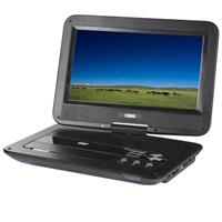 "NAXA 10"" TFT LCD Swivel Screen Portable DVD Player with U..."