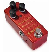Strawberry-Red Overdrive Pedal