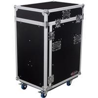 Odyssey FZ1316WDLX Flight Zone ATA DLX Combo Rack Case Wi...
