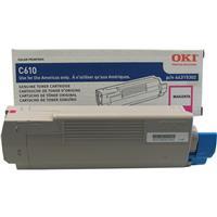 Oki 44315302 Magenta Toner Cartridge for C610 Series Prin...