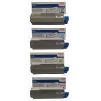 Oki Toner Cartridge for C610 Series Printers KIt Consists...