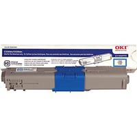 Oki 44469703 Cyan Toner Cartridge for C330/530/MC361/MC56...