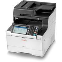 Oki MC573dn Compact Color Multifunction LED Laser Printer...