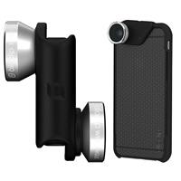 4-in-1 Silver/Black Lens for iPhone 6 Plus/6s Plus (Fishe...