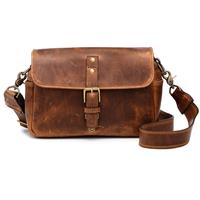 Onan Power The Bowery Leather Camera Bag and Insert, Anti...